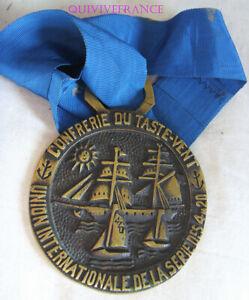 DEC5394 - MEDAILLE CONFRERIE DU TASTE-VENT - UNION INTER. DE LA SERIE DES 4m20 IsITb7pT-09154303-520581909