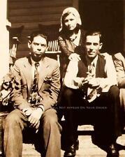 BONNIE AND CLYDE PHOTO RARE BUCK BLANCH BARROW W.D. JONES GANGSTER 1932  #20561