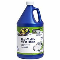 Zep Commercial Zuwlff128 Wet Look Floor Polish, 1 Gal Bottle, New, Free Shipping on sale