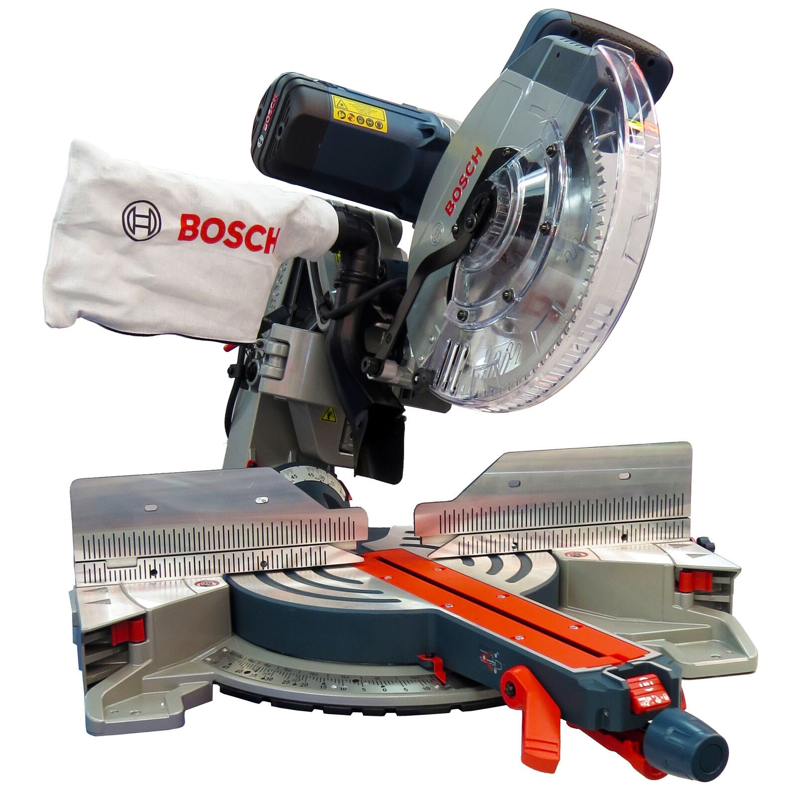 Bosch Kapp- und Gehrungssäge GCM 12 GDL Professional im Set - Kappsäge
