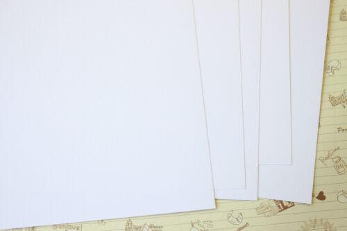 Cartulina Color 240gsm Blanco A4 A5 hágalo usted mismo Boda lugar tarjetas Cardmaking Craft