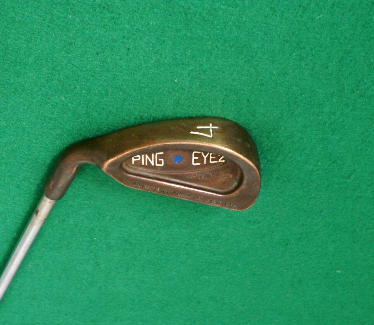 Zurdo  Ping Eye2+ Becu Cobre Berilio Punto Azul 4 Regular De Hierro Eje De Acero  alta calidad