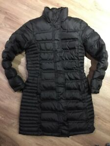 be3aefd12 Details about Brooks Brothers Women's Black Down Puffer Jacket Coat Sz S