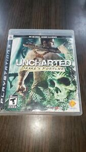 Uncharted-Drake-039-s-Fortune-Sony-PlayStation-3-2007-PS3-CIB-NFR