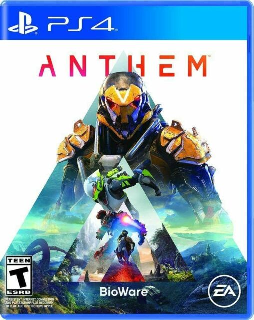 Electronic Arts Anthem (PlayStation 4) Brand new in sealed package Highly rated.