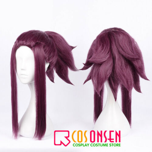 LOL Girl group KDA Akali Cosplay Wig Cosplay Costume Cosonsen All Sizes