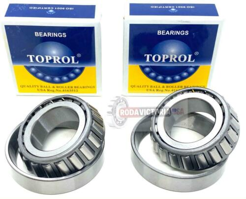 "L44610 L44643 BEARING CUP AND CONE SAME AS TIMKEN SET 14 1/"" TRAILER A SET 2"