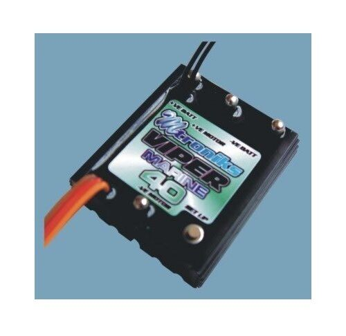 Mtroniks Viper Marine 40 Electronic Speed Controller (VIP40M) RC Model Boats