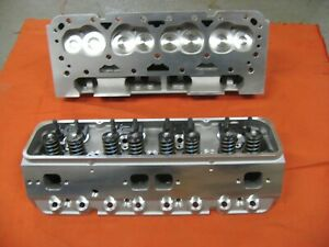 LPC-350-383-etc-SMALL-BLOCK-CHEVY-HEADS-Aluminum-Lph-200-S-BOLT-ON-amp-GO