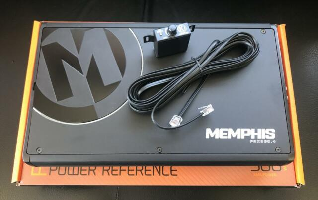 Memphis Power Reference 300w 4-channel Amplifier Prx300 4 Car Audio
