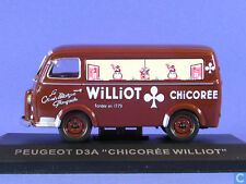 RARE FRENCH TRUCK PEUGEOT D3A WILLIOT ALTAYA