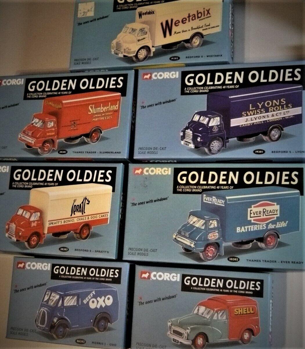 calidad fantástica Corgi oroen Oldies Colección de 7 Die Die Die Cast en escala 1 50. todas las     nuevo     ordenar ahora