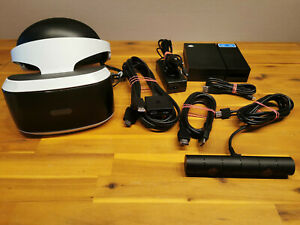 SONY PLAYSTATION 4 VR BRILLE ► PS4 VIRTUAL REALITY HEADSET ◄ inkl KAMERA