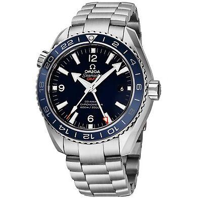 Omega Men's Seamaster Planet Ocean Titanium GMT Automatic Watch 23290442203001