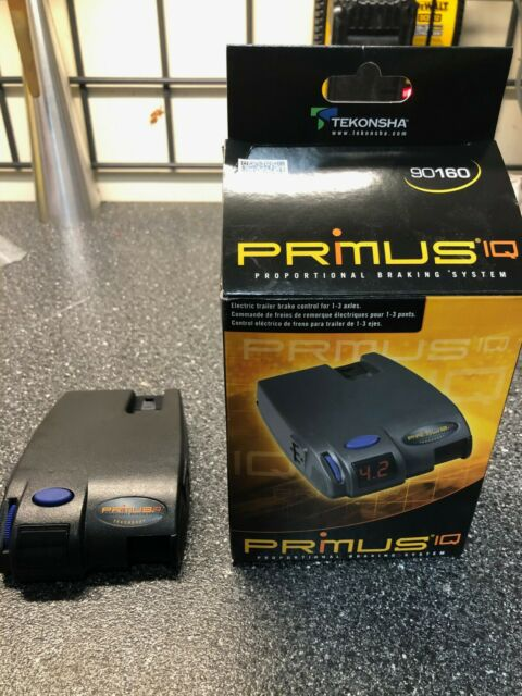 Tekonsha 90160 Primus Iq Electronic Trailer Brake