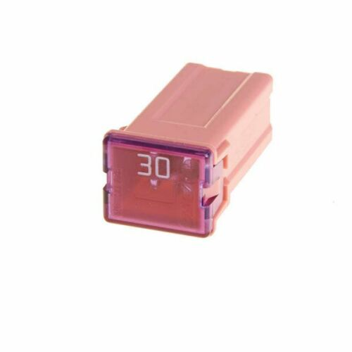Pearl PF2191 J Type Fuses 5 Pieces Slow Blow 30 Amp Pink Electrical Replacement