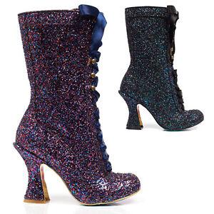Irregular-Choice-Luna-Sparkles-Black-Purple-Glitter-High-Louis-Heel-Calf-Boots