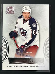 2016-17-Upper-Deck-The-Cup-Markus-Nutivaara-Rookie-Blue-Jackets-249
