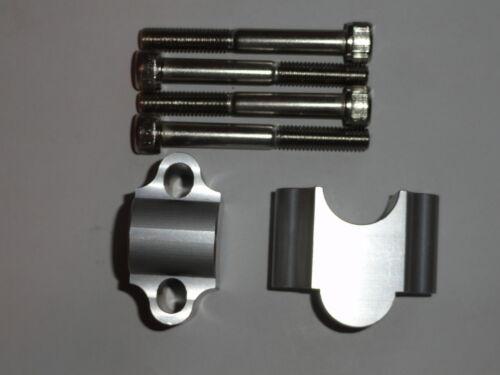 Honda Trx 250 Recon 1997-2014 7//8 Handlebar Risers HDM-OFFROAD billet bar