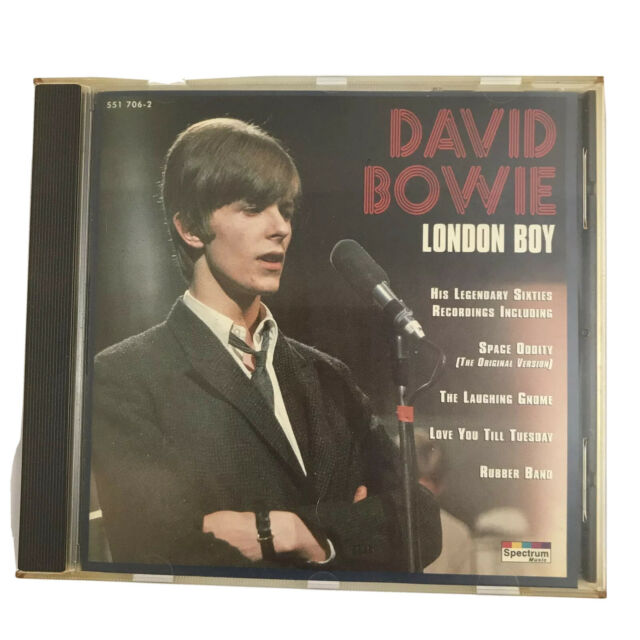 DAVID BOWIE London Boy  551 706-2  incl Space Oddity Made In Germany