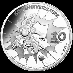 Frankreich-10-Euro-2019-Idefix-60-Jahre-Asterix-22-2-gr-Silber-PP