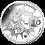 Frankreich-10-Euro-2019-Idefix-60-Jahre-Asterix-22-2-gr-Silber-PP miniatuur 1
