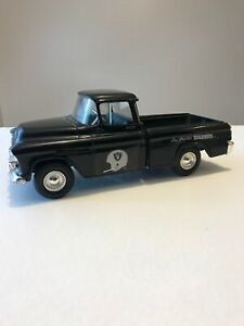 1955 Chevy Truck >> Details About Team Nfl Los Angeles Raiders 1955 Chevy Truck Die Cast Bank By Ertl 7 5