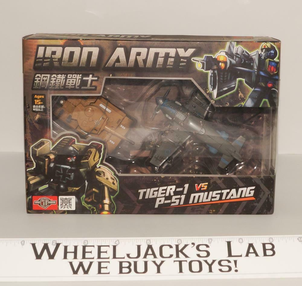 Tiger-1 P-51 Mustang Iron Army NEW TFC Transformer Third party