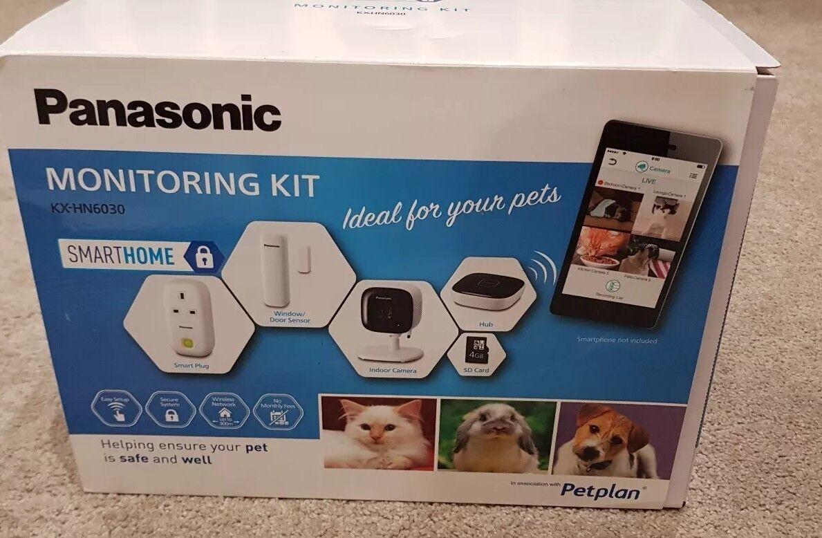 Kit De Monitoreo De Mascotas Panasonic KX-HN6030 Nuevo En Caja