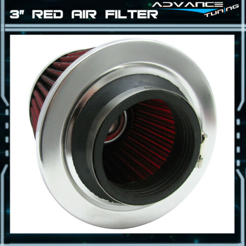 Fit For Accord Civic Prelude Wagovan P Style Intake Filter Red 3