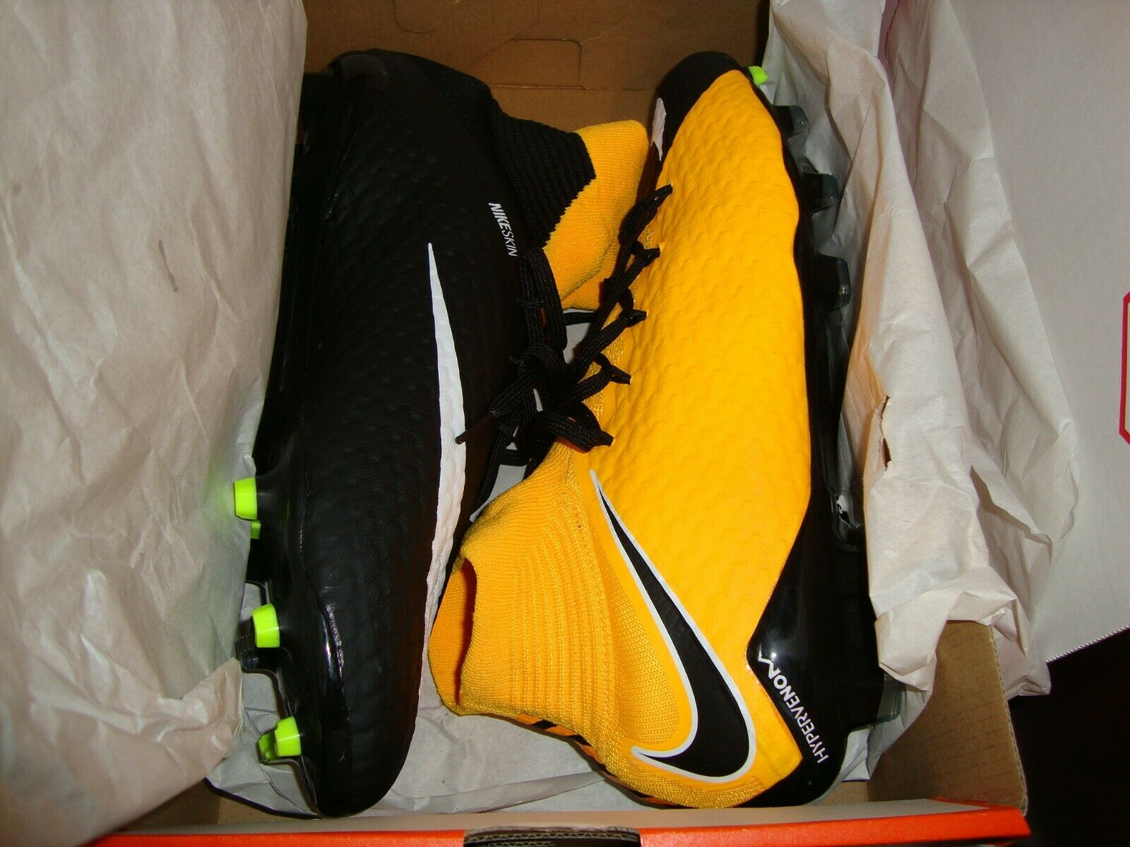 8db5dc5c53de Nike Hypervenom Phatal III FG Mens Soccer shoes Cleats 12 DF Sz ...