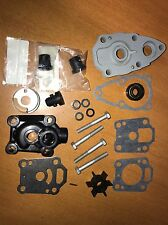 Water Pump Kit with Upper & Lower Housing ~ Mercury Mariner 4HP 5HP 6HP Outboard