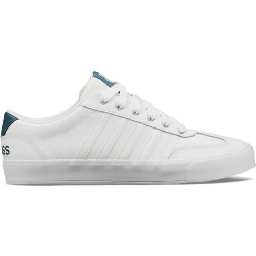 Mens K Swiss Addison Trainers Low Lace Up New