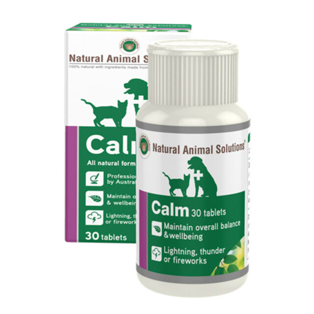 Natural Animal Solutions NAS Calm For Dogs And Cats 30 Tablets