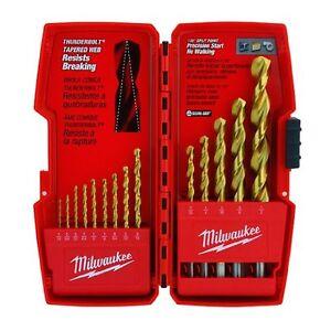 Milwaukee-48-89-0011-14-Piece-Titanium-Drill-Bit-Set