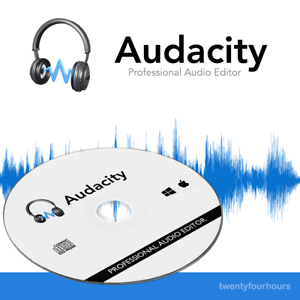Details about Audacity Audio Editor - Professional Sound Editor - Audio  Recording - Recorder