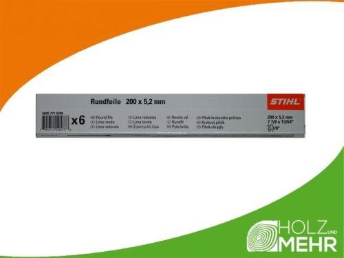 Holz Feilenhalter für Sägeketten5,2 mm 5605 771 5206 STIHL Rundfeile 6 St
