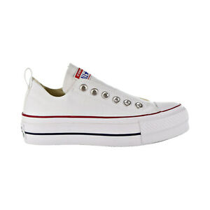 Details about Converse Chuck Taylor All Star Lift Fashion Slip On Women's Shoes White 563457F