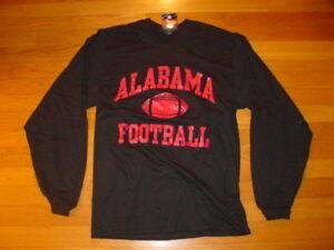 ALABAMA-CRIMSON-TIDE-FOOTBALL-long-sleeve-T-Shirt-NEW-TAGS-BAMA-sz-SMALL