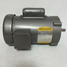 Baldor Single Phase 5 Hp Industrial Electric Motor Vl3504 1725 Rpm Made In Usa