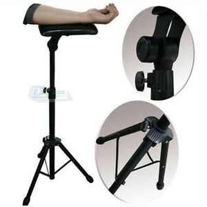 Adjustable tattoo steel height arm leg rest stand tripod for Cheap tattoo chairs uk