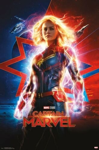 CAPTAIN MARVEL 22x34-17623 ONE SHEET MOVIE POSTER