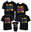 OMG face Emoji t shirt Birthday Matching Party Reunion Celebration Family Kid