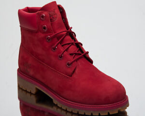 fashion new specials new list Details about Timberland 6 Inch Premium Waterproof Junior Boots 2018  Lifestyle Shoes Red A13HV