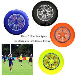 Discraft-Ultimate-Ultra-Star-175g-Deportes-al-Aire-Libre-Diversion-Athletic-Frisbee-Disco-de-Juego