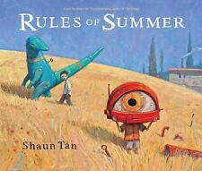 RULES OF SUMMER [9780545639125] - SHAUN TAN (HARDCOVER) NEW