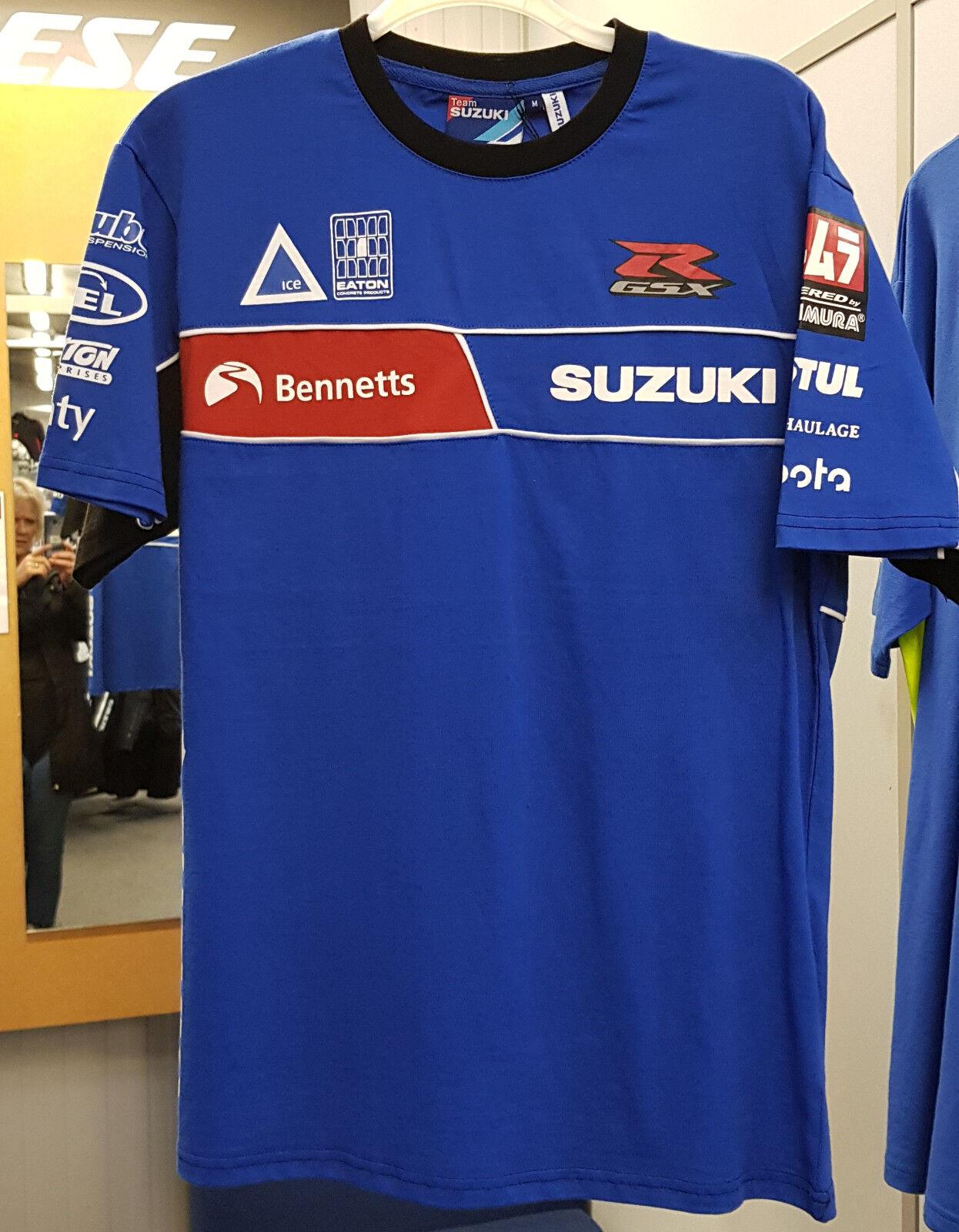 Genuine Bennetts Suzuki Team Polo Shirt