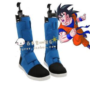 100% De Qualité Dragonball Dragon Ball Z Super Saiyan Résurrection Goku Kakarotto Cosplay Chaussures-afficher Le Titre D'origine Prix ModéRé