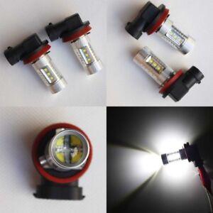 White-CREE-H11-LED-Fog-Light-Bulbs-Globes-VE-Commodore-FG-Falcon-Aurion-Camry