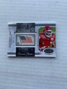 2008 Leaf Certified Materials Souvenir Stamp /10 Glenn Dorsey #SS-29 Rookie